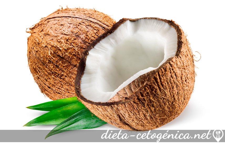 El coco en la dieta cetogénica