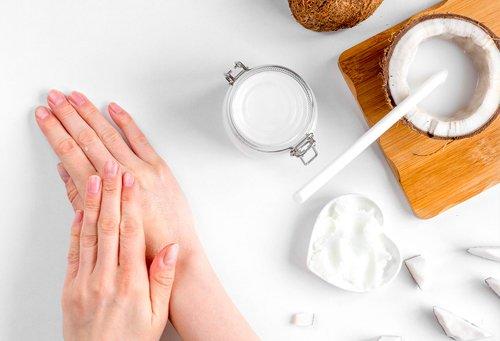 Crema hidratante de coco